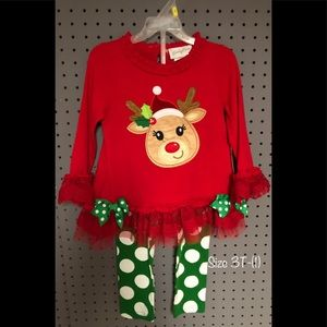 Rudolph The Red Nose Reindeer Holiday Outfit